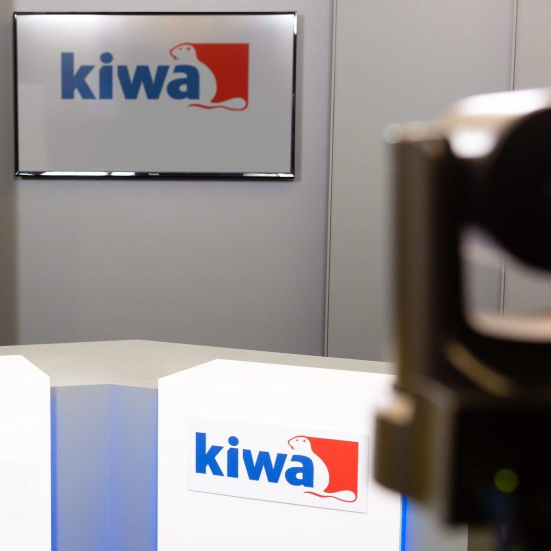 Kiwa webinarstudio voor interne communicatie